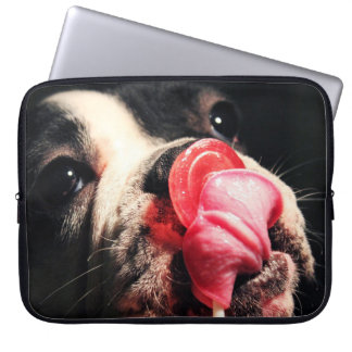 BullDog LolliPop Laptop Computer Sleeves