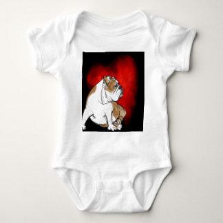 Bulldog Love Baby Bodysuit