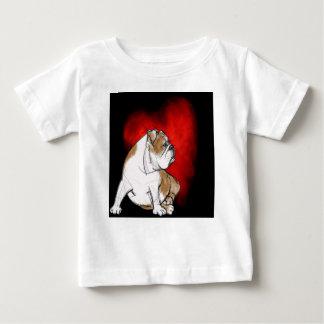 Bulldog Love Baby T-Shirt