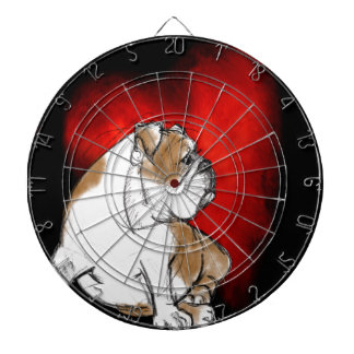 Bulldog Love Dartboard