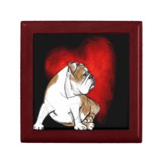 Bulldog Love Gift Box