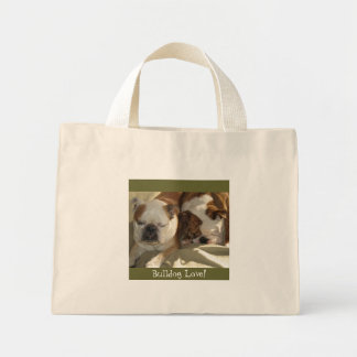 Bulldog Love! Mini Tote Bag