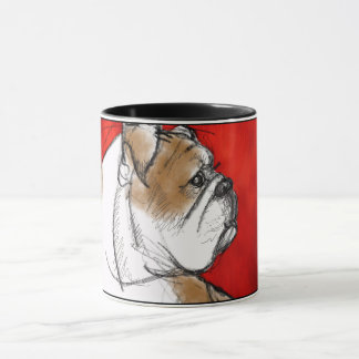 Bulldog Love Mug