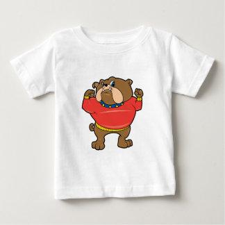 Bulldog Mascot Baby T-Shirt