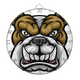Bulldog Mean Sports Mascot Dartboard