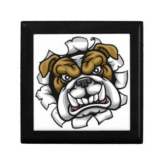 Bulldog Mean Sports Mascot Gift Box