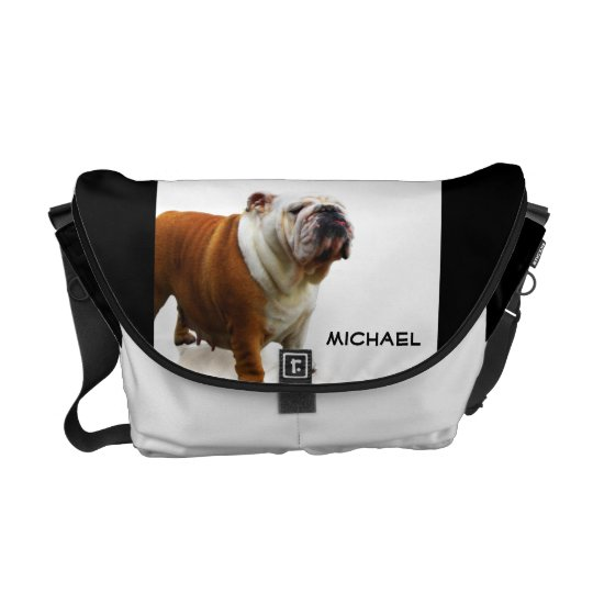 Bulldog Messenger Bag