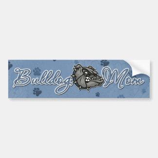 Bulldog Mom Bumper Sticker