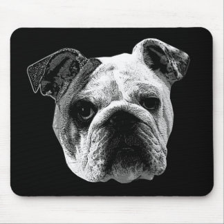 Bulldog Mouse Pad