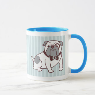 Bulldog Mug by Fluff