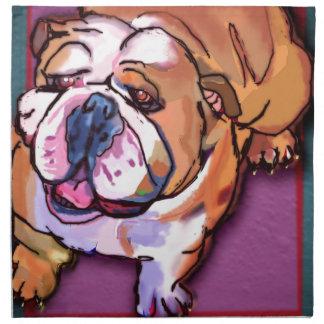 Bulldog Napkin