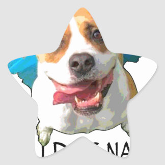 bulldog nation star sticker