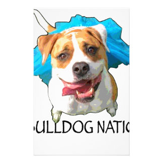 bulldog nation stationery