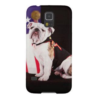 Bulldog Navy Official Mascot Dog Galaxy S5 Cases