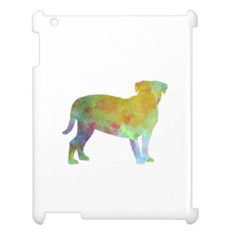 Bulldog of Bordeaux in watercolor Case For The iPad