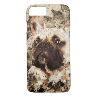 Bulldog Painting Art series iPhone 8/7 Case