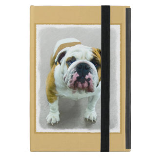 Bulldog Painting - Cute Original Dog Art iPad Mini Case