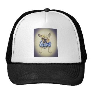 Bulldog Portrait in Purple Haze Trucker Hat