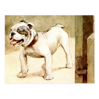 Bulldog Postcard