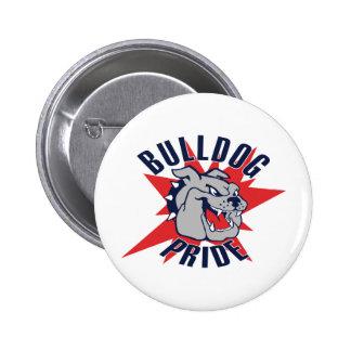 Bulldog Pride 2 Inch Round Button