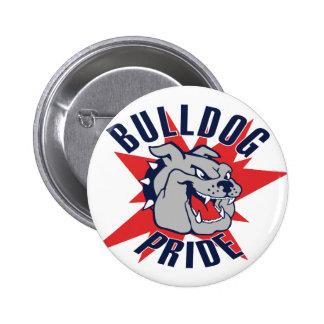 Bulldog Pride Pinback Buttons