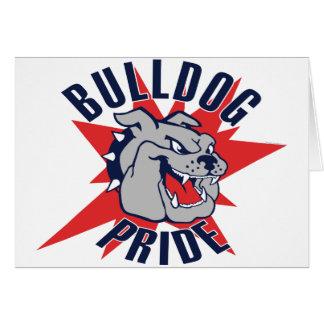 Bulldog Pride Greeting Card