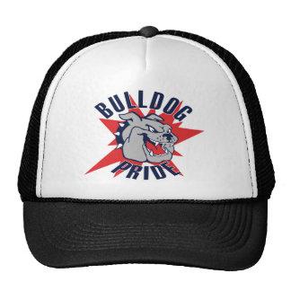 Bulldog Pride Mesh Hats