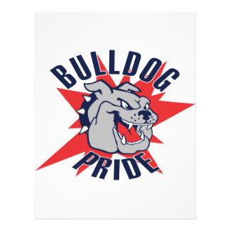 Bulldog Pride Personalized Flyer