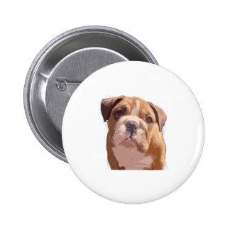 Bulldog Pup png Button