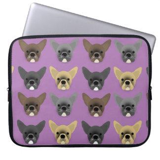 Bulldog Puppies Laptop Computer Sleeves