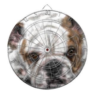 Bulldog Puppy Dartboard