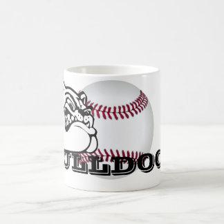 Bulldog School Spirit Team Mascot Baseball Mug