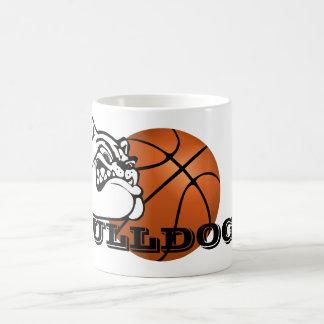Bulldog School Spirit Team Mascot Basketball Mug
