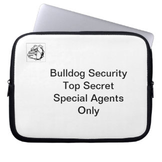 Bulldog Security Laptop Sleeve