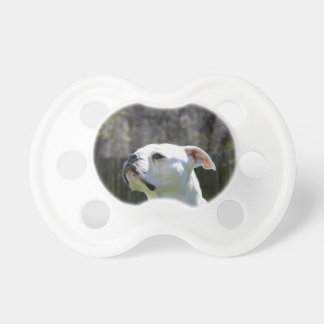 Bulldog Side Baby Pacifier
