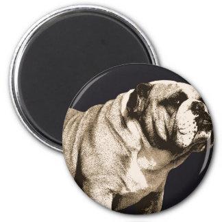 Bulldog Spirit 2 Inch Round Magnet