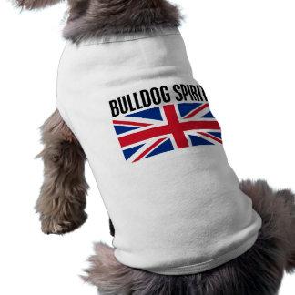 Bulldog Spirit Pet Tshirt