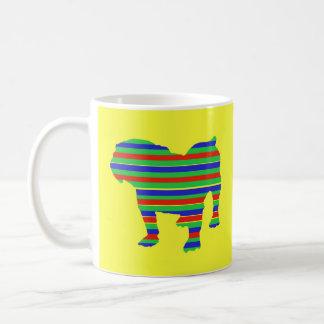 Bulldog Stripes Coffee Mug