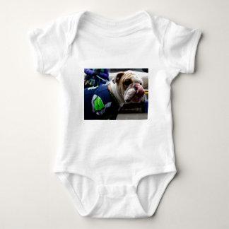 Bulldog Team Spirit Baby Bodysuit
