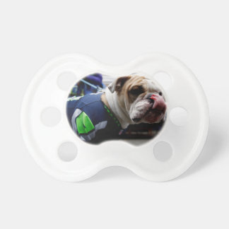 Bulldog Team Spirit Baby Pacifiers