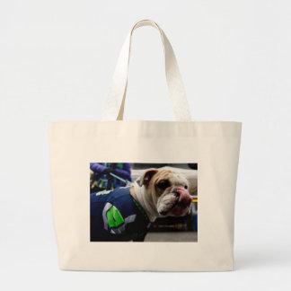 Bulldog Team Spirit Tote Bag