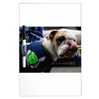 Bulldog Team Spirit Dry-Erase Whiteboard