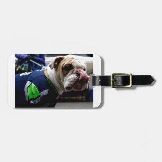 Bulldog Team Spirit Tags For Bags