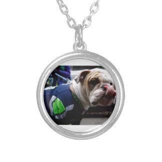 Bulldog Team Spirit Personalized Necklace