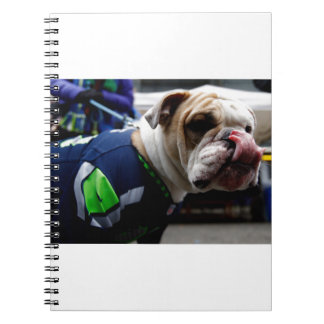Bulldog Team Spirit Spiral Note Book