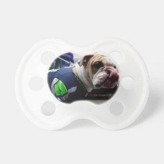 Bulldog Team Spirit Pacifier