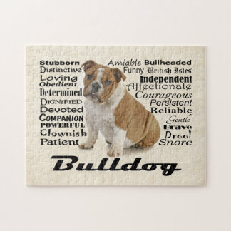 Bulldog Traits Puzzle