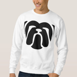 bulldog tribal.png sweatshirt