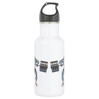 bulldog weight lifter 532 ml water bottle