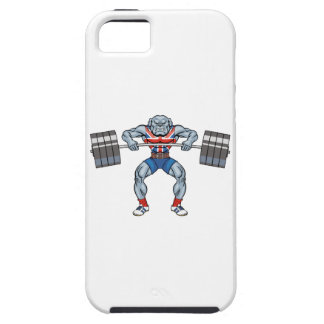 bulldog weight lifter case for the iPhone 5
